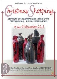 Touques-LA GALERIE DES CRÉATEURS Parvis de l'Eglise du 6 au 30 décembre