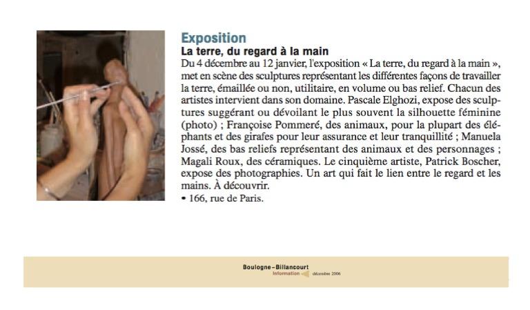 2006_ArticleBoulogneExpoPascaleTerre