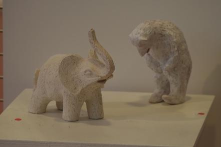 Eléphant blanc et En attendant le poisson