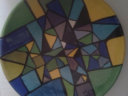 Plat céramique - Pascale Elghozi