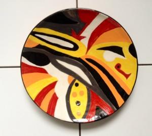 Plat en céramique - Pascale Elghozi