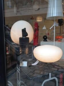 L'Art en vitrine 2015, Sceaux - boutique Lumière & Objet