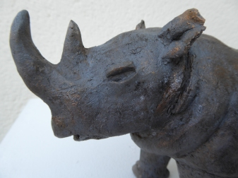 Rhino pas féroce - Pascale Elghozi