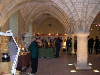 Une belle fréquentation pour la 1ère édition de l'expo-vente à l'Abbaye du Valasse