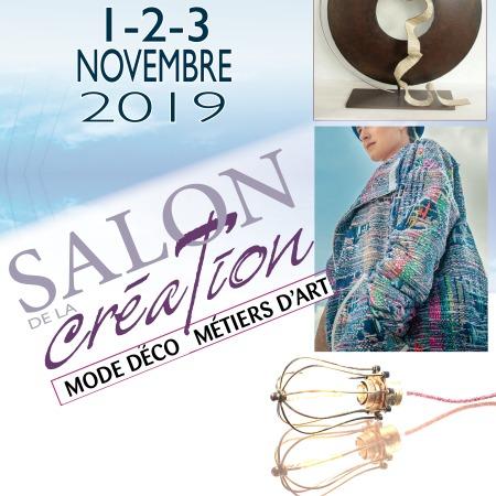 Expo-vente de novembre 2019 à Honfleur pour Pascale Elghozi Sculpteur
